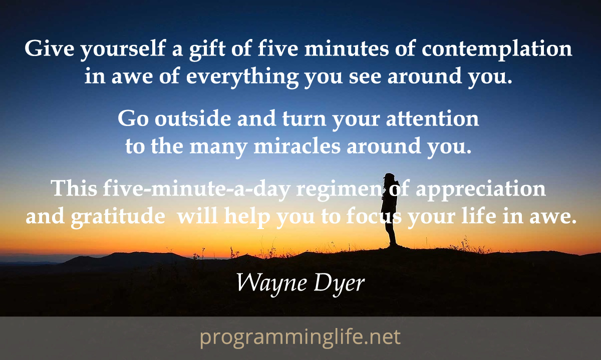 Quote Of The Day Life Gratitude Quote Devotional  Programming Life